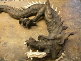 Restauration d'un dragon
